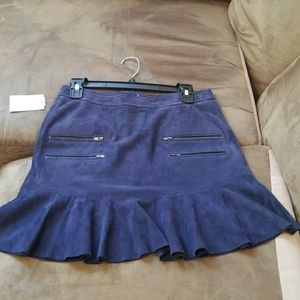 Paige Suede Mini Skirt